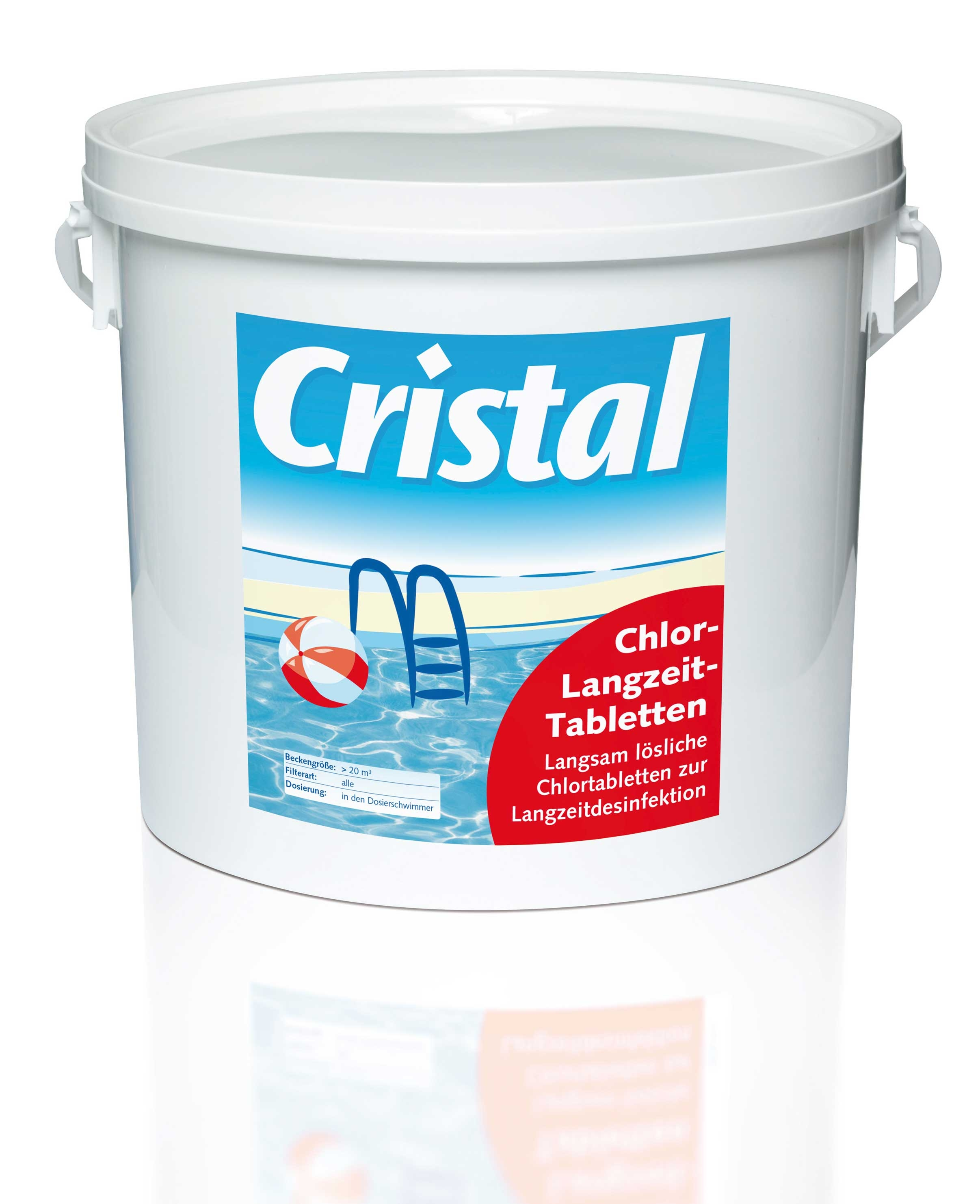 Cristal Chlor Langzeittabletten 5 kg