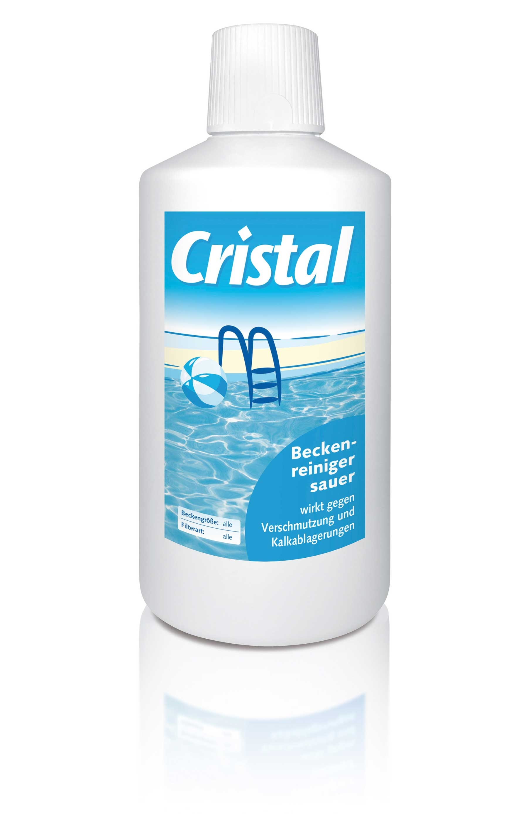 Cristal Beckenreiniger sauer