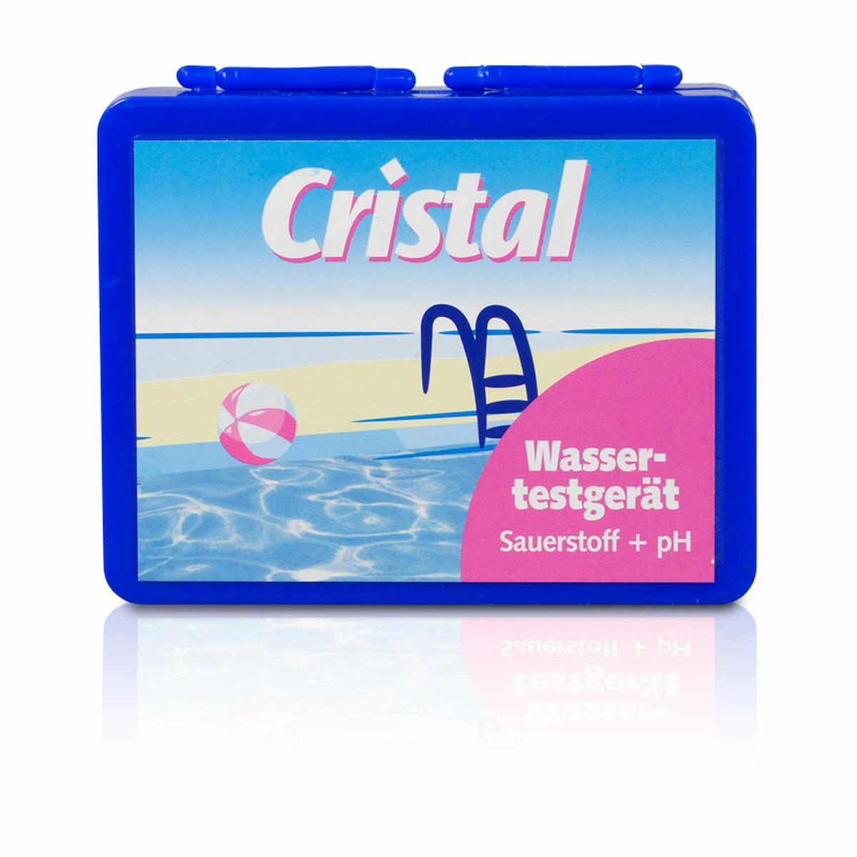 Cristal Wassertestgerät für Sauerstoff und pH