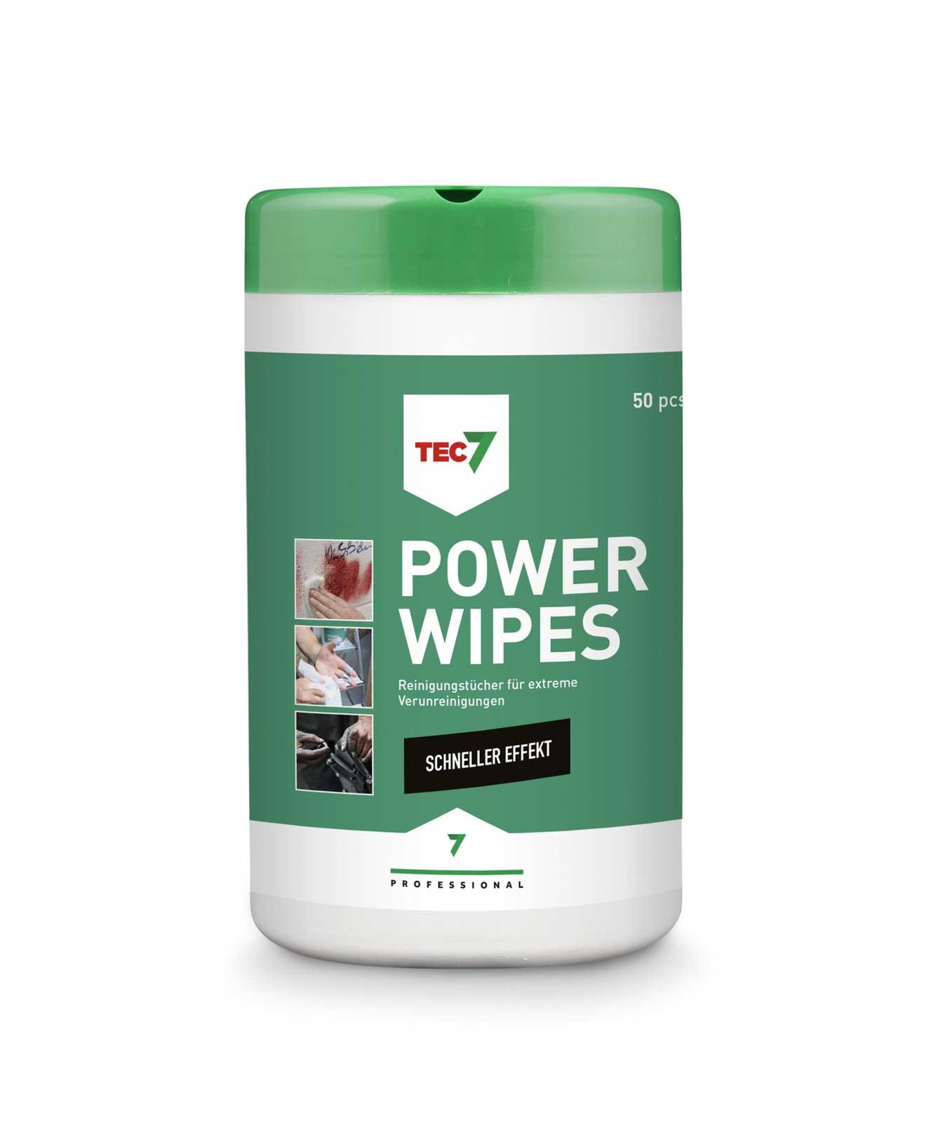 Power Wipes - Reinigungstücher für extreme Verunreinigung