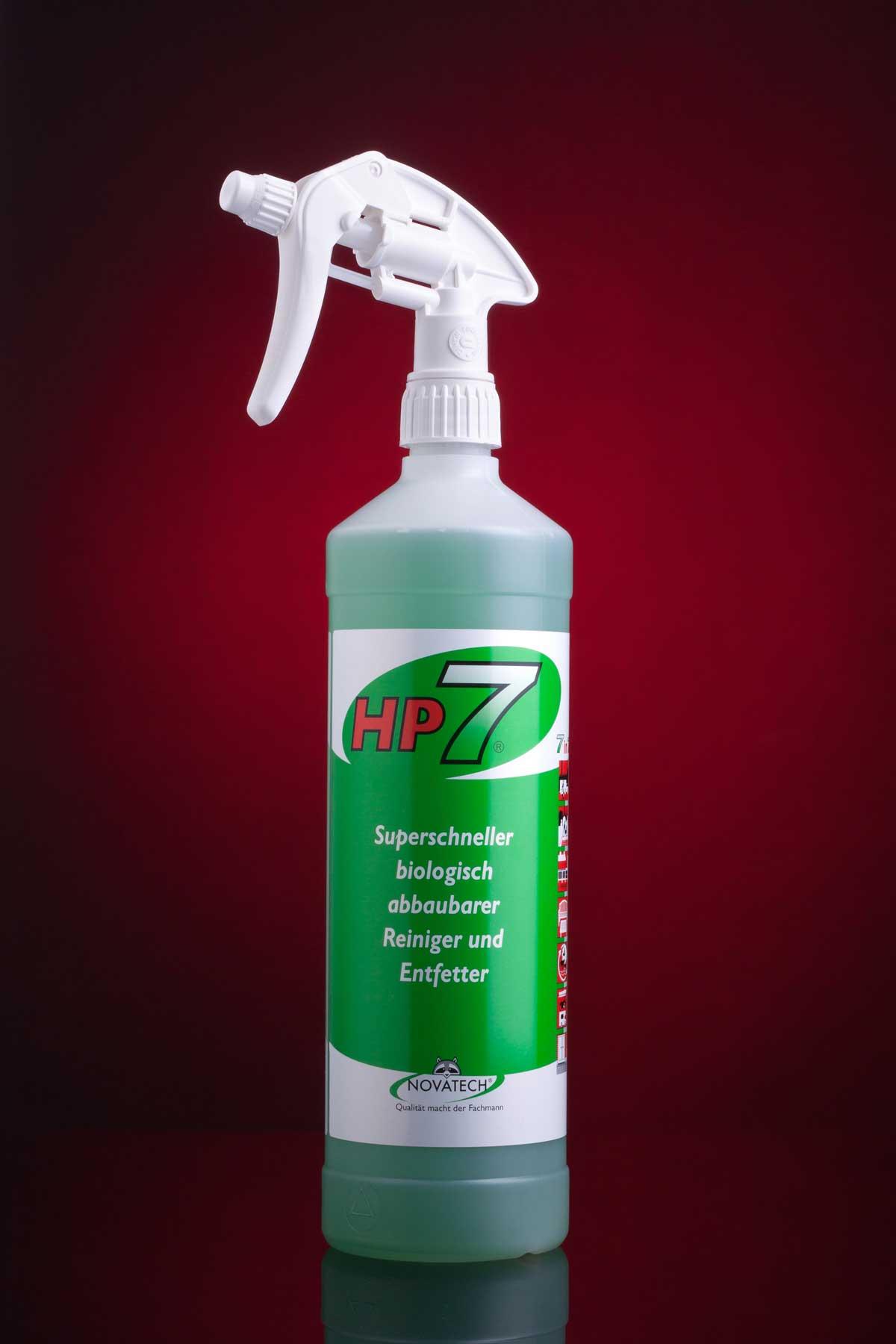 HP7 - biologisch abbaubarer Allzweckreiniger und entfetter