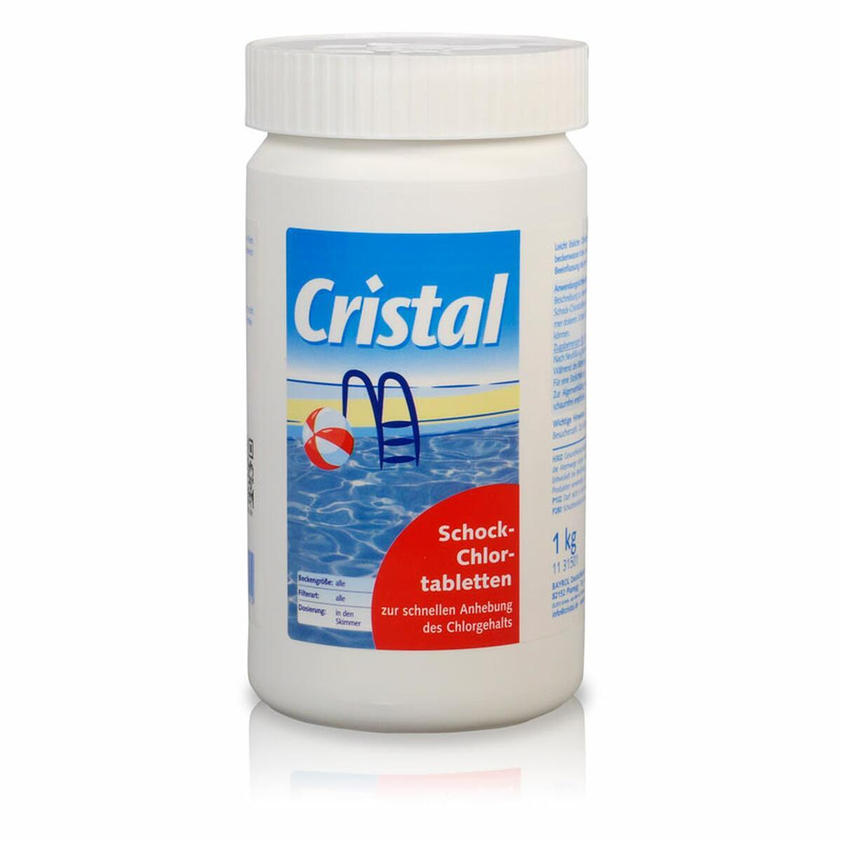 Cristal Schockchlortabletten 20 g - 1 kg