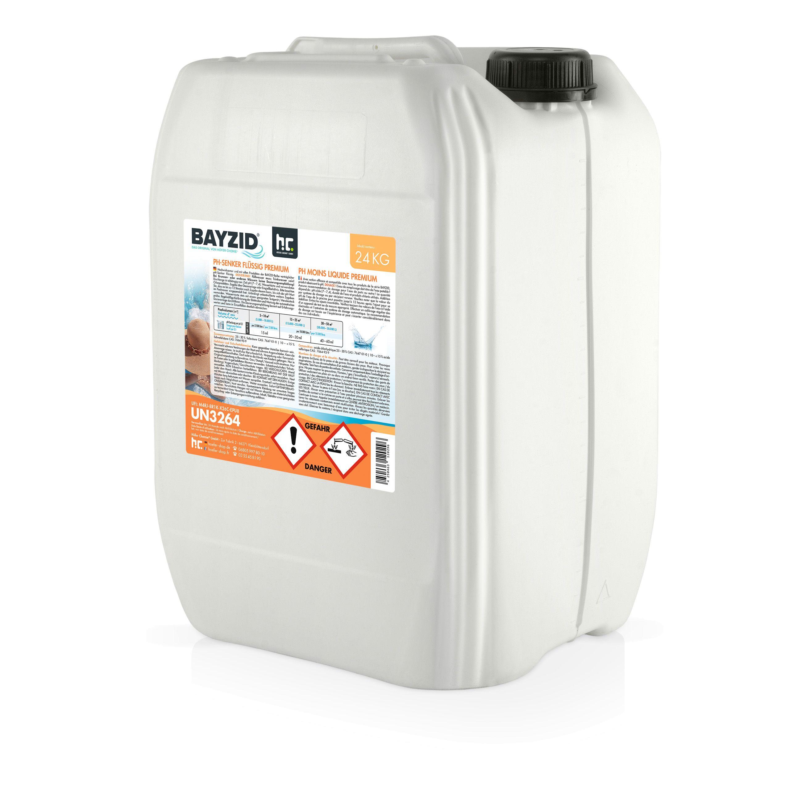 BAYZID pH-Senker Premium flüssig 24 kg Kanister