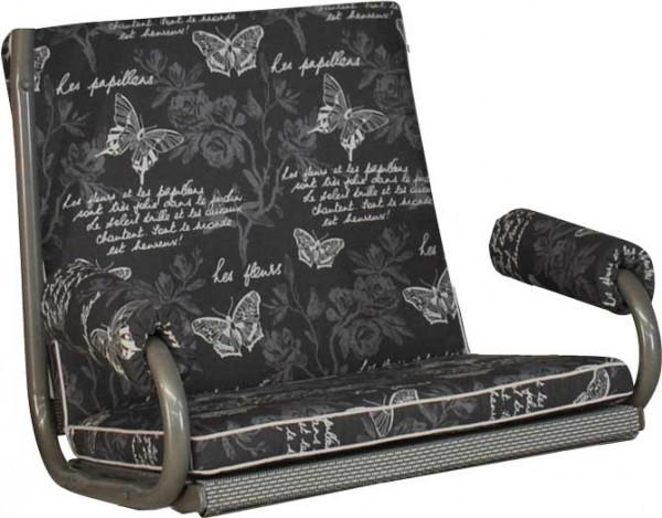 Angerer Hollywoodschaukel Auflage 1-Sitzer Royal Schmetterling