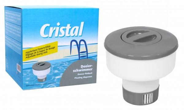 Cristal SET Chlor Langzeittabletten 1 kg mit Dosierschwimmer