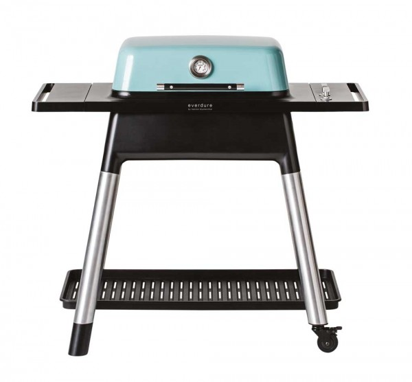 everdure Gasgrill FORCE mit zwei Schlangenbrennern - mint