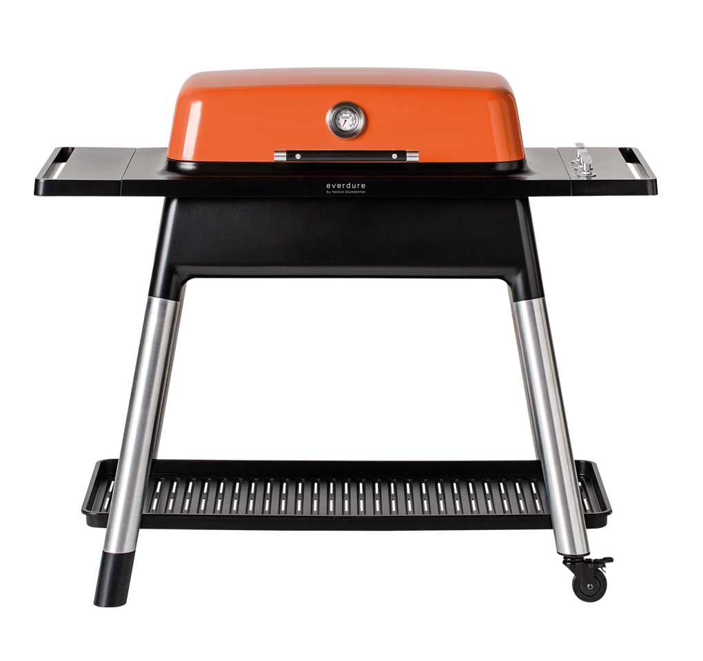 everdure Gasgrill FURNACE mit drei Schlangenbrennern - orange