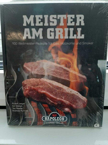 "Napoleon Grillbuch ""Meister Am Grill"""