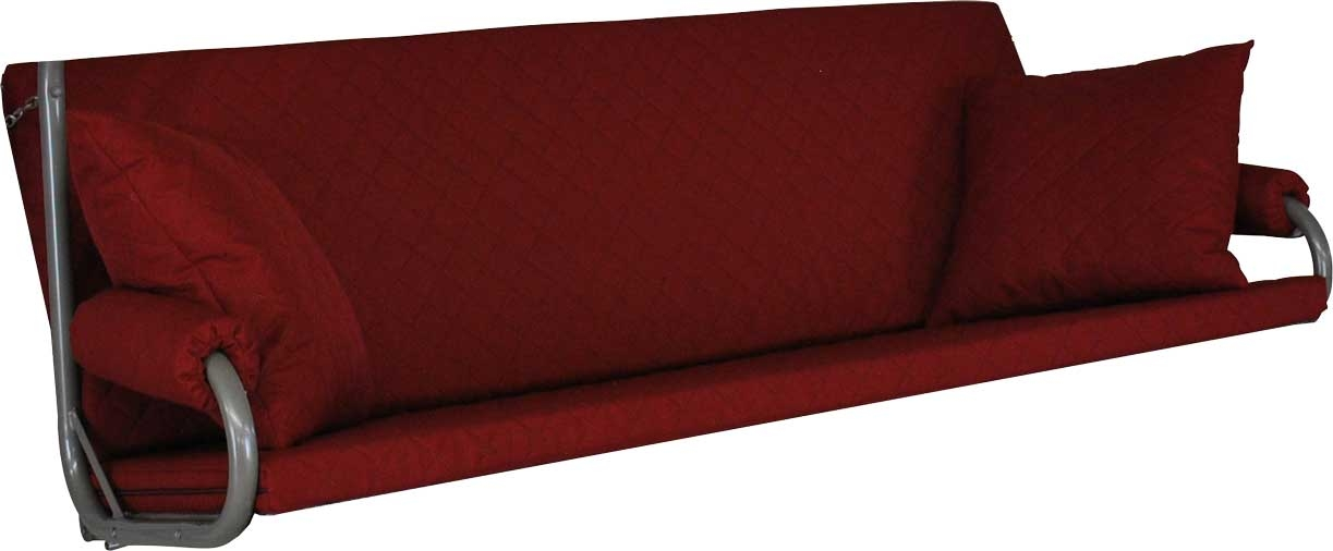 Angerer Hollywoodschaukel Auflage Elegance Joy bordeaux