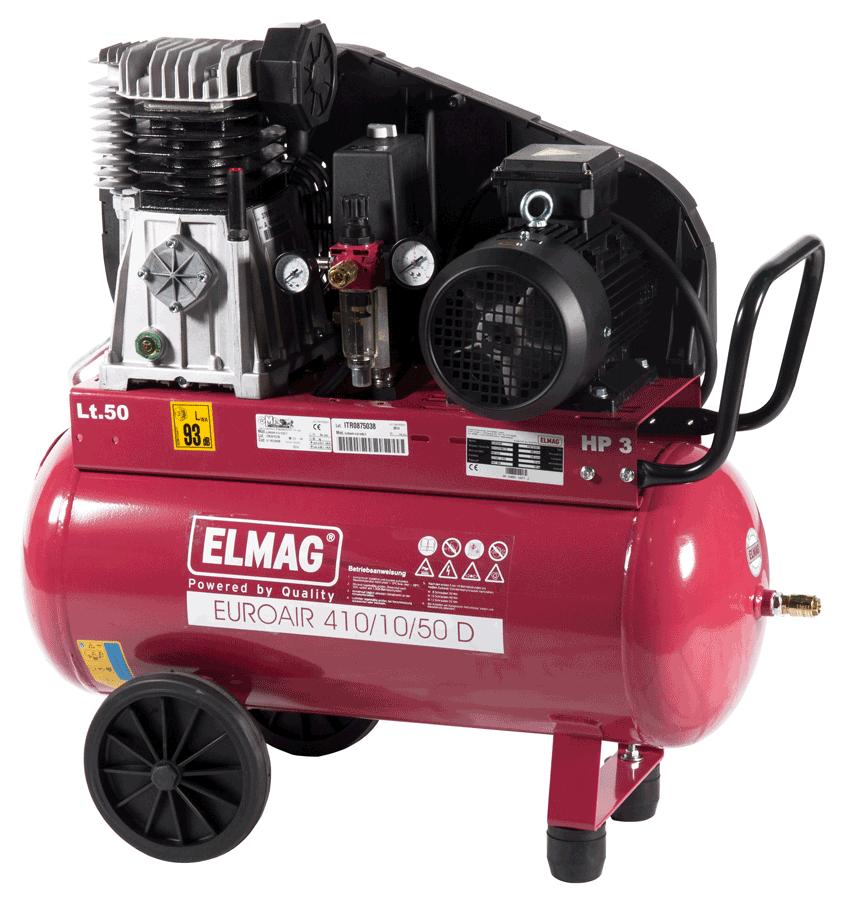 Elmag Kompressor EUROAIR 410/10/50 D