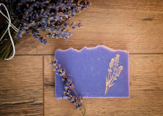 Wohlfühlseife Lavendel