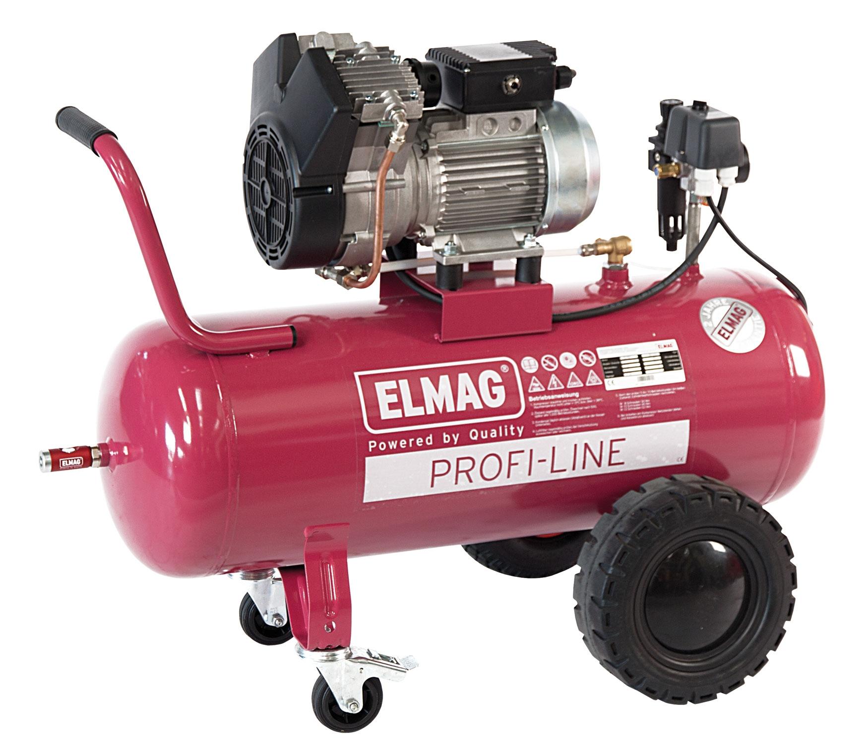 Elmag ölfreier Kompressor PROFI-LINE PL 460/10/50 W