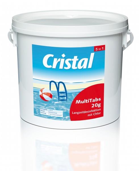 Cristal MultiTabs 5 in 1 - 20 g - 5 kg - 4er Set
