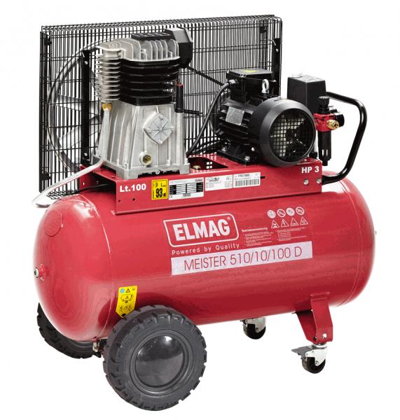 Elmag Kompressor MEISTER 510/10/100 D