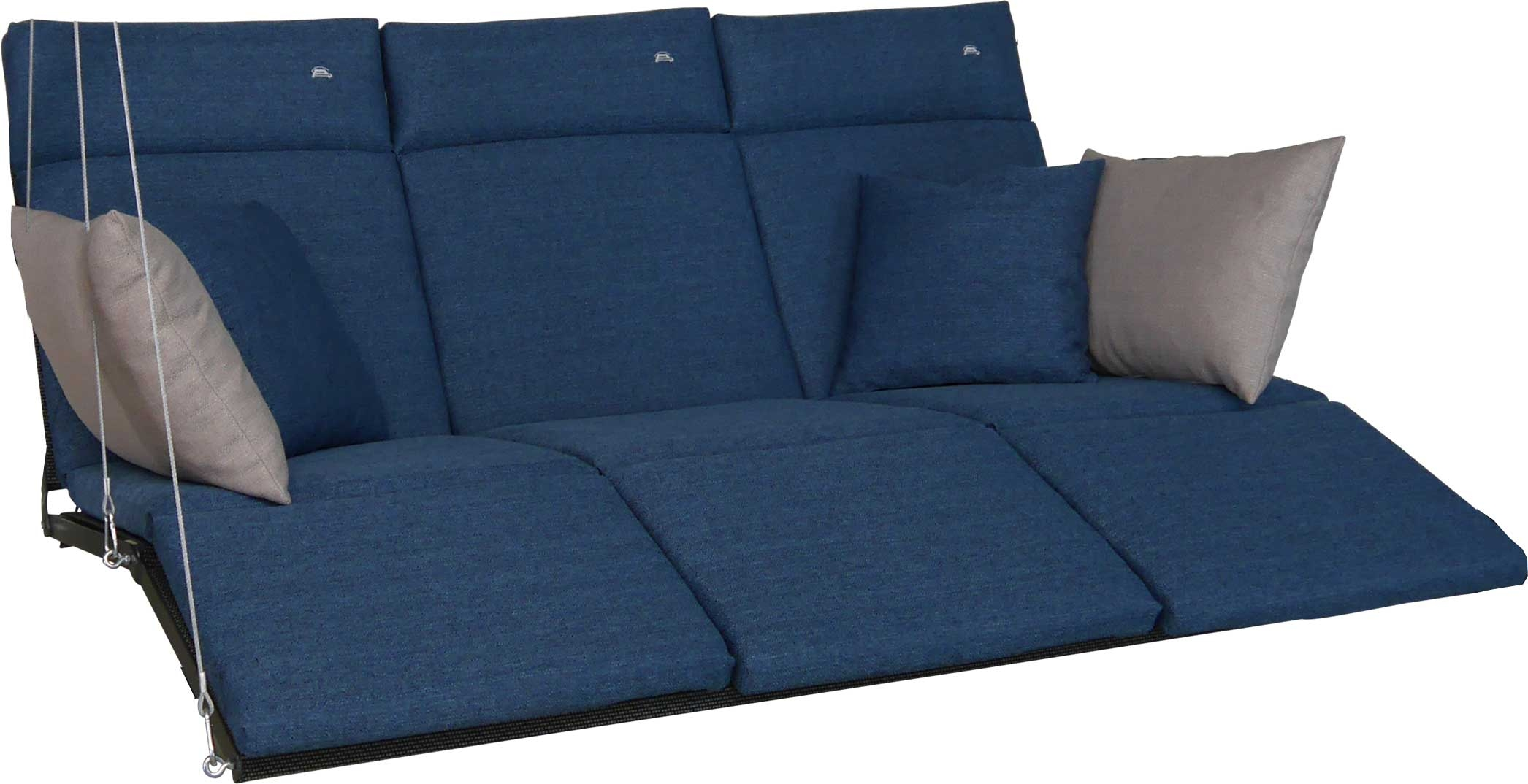 Angerer Hollywoodschaukel Auflage Relax Smart denim