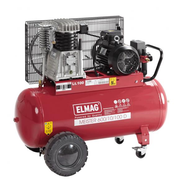 Elmag Kompressor MEISTER 600/10/100 D
