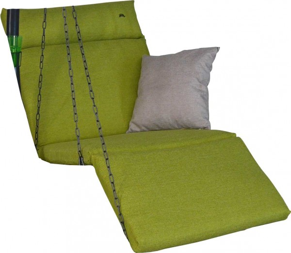 Angerer Hollywoodschaukel Auflage 1-Sitzer Swing Smart lime