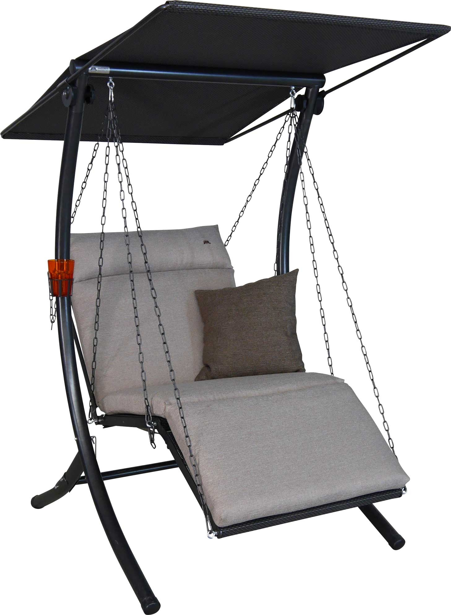 Angerer Hollywoodschaukel 1-Sitzer Swing Smart sand