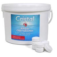 Cristal Schockchlortabletten (20g) 3 kg