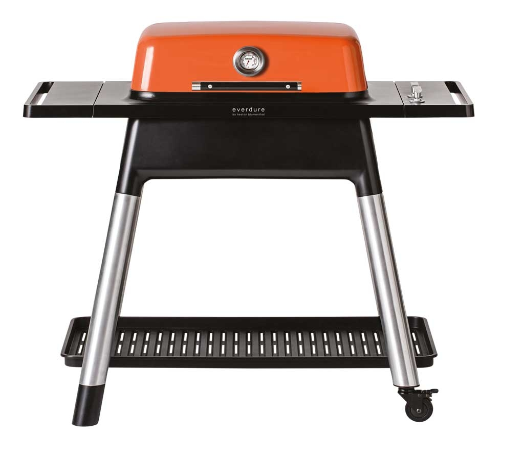 everdure Gasgrill FORCE mit zwei Schlangenbrennern - orange