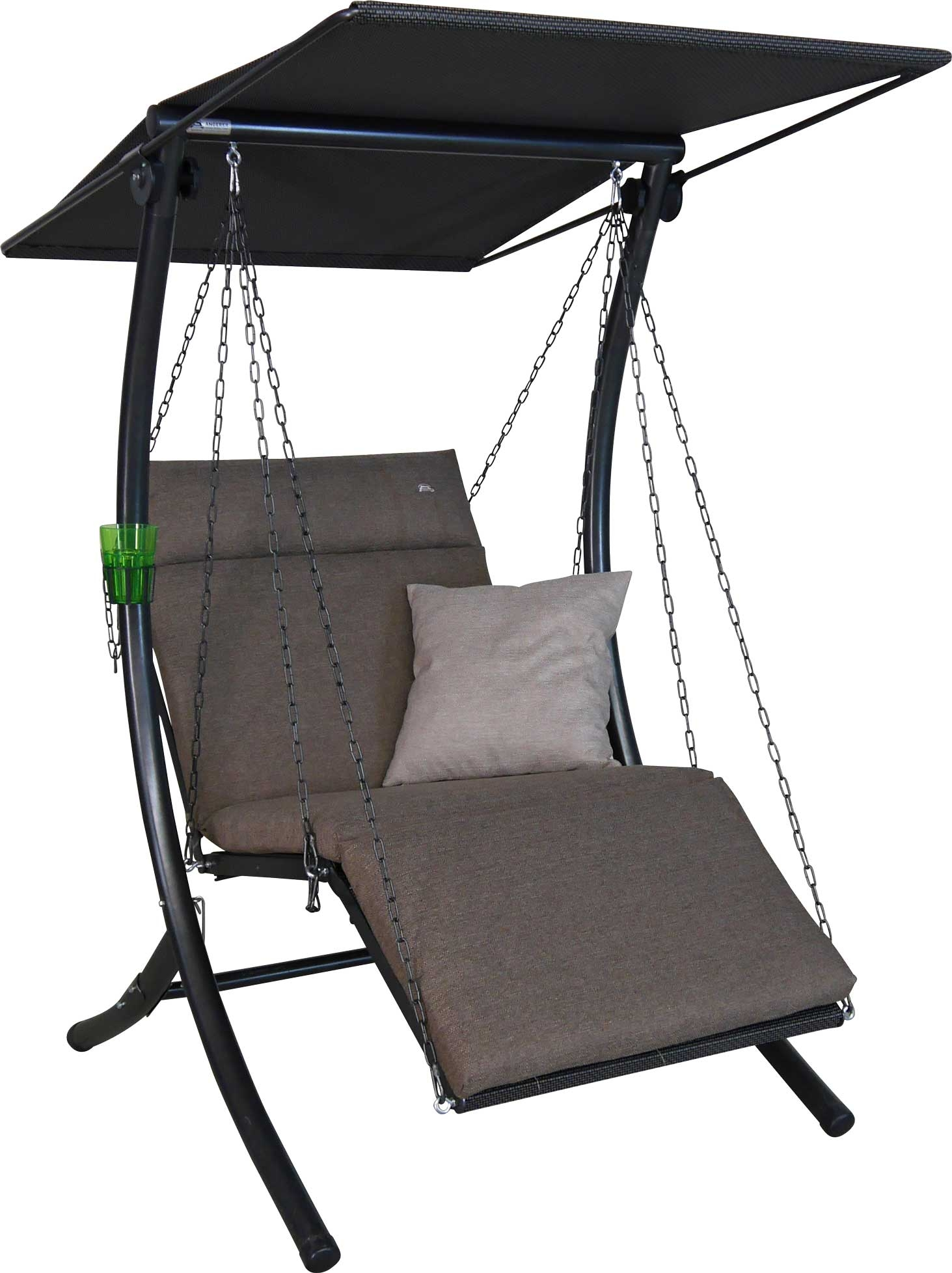 Angerer Hollywoodschaukel 1-Sitzer Swing Smart olive