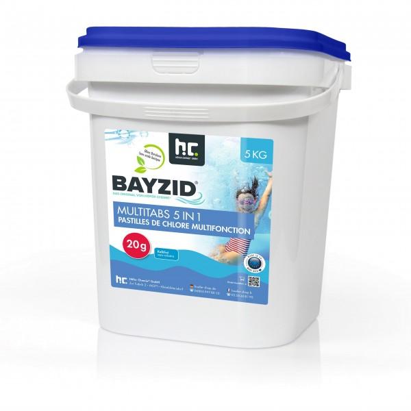Höfer BAYZID Multitabs 20 g 5 in 1 - 5 kg 4er Set