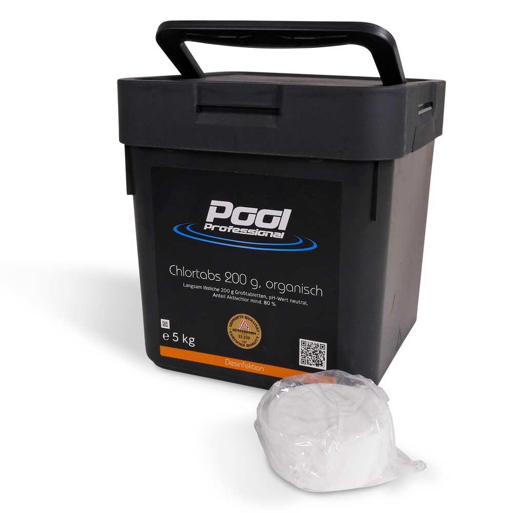 Pool Professional Chlortabs 200g organisch 5 kg