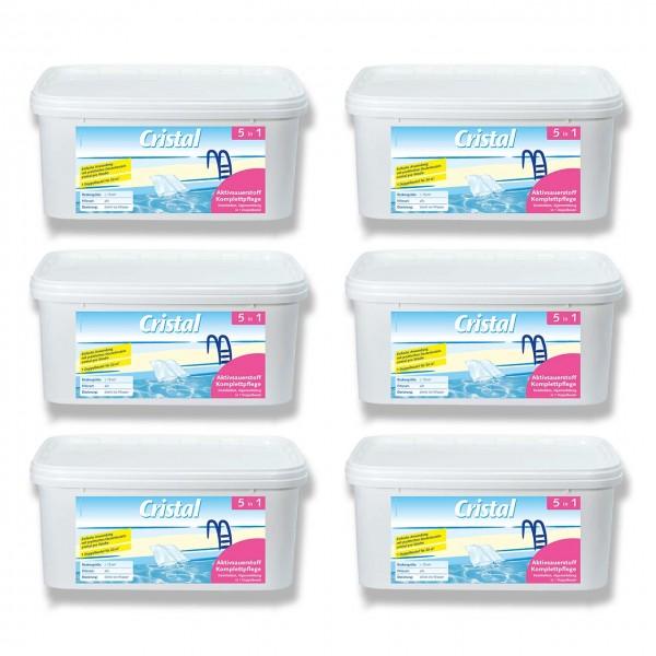 Cristal Aktivsauerstoff Komplettpflege 6-Set