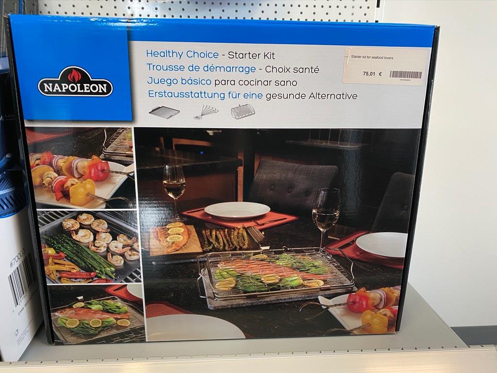 """Starter Set """"Gemüse & Fisch Liebhaber"""""""