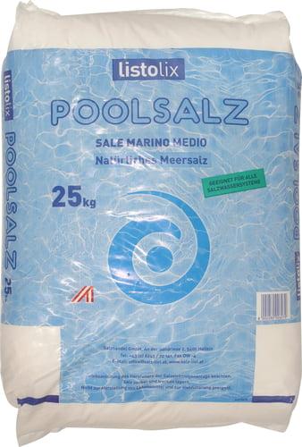 Listolix Poolsalz (Meersalz) 25 kg