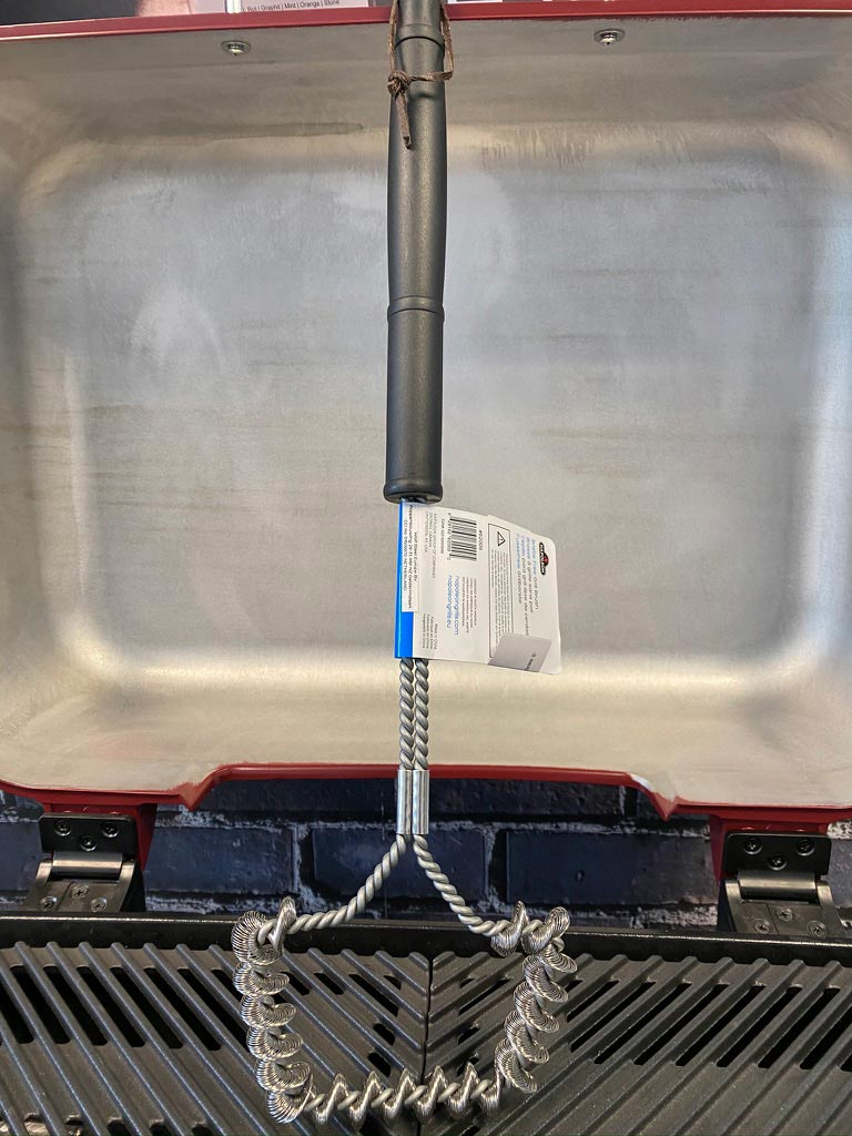 Napoleon Grillbürste dreiseitig für Edelstahlroste (ohne Borsten)