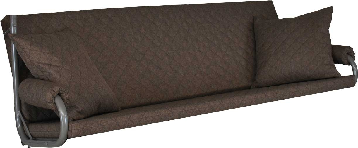 Angerer Hollywoodschaukel Auflage Elegance Joy taupe