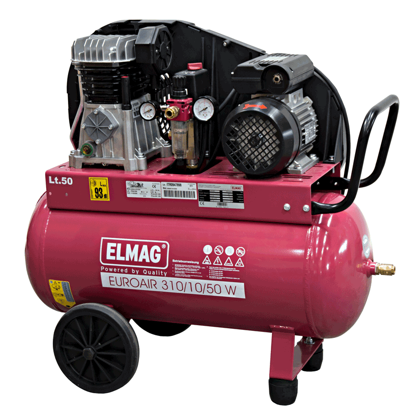 Elmag Kompressor EUROAIR 310/10/50 W