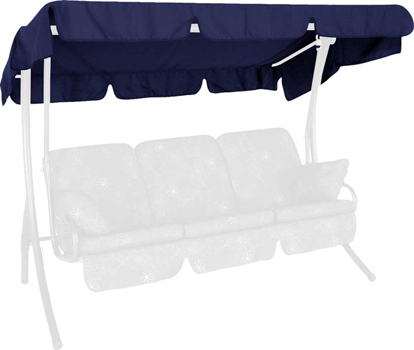 Angerer Hollywoodschaukel Dach Swingtex 210x145cm blau