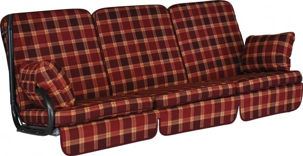 Angerer Hollywoodschaukel Auflage Comfort Rio bordeaux