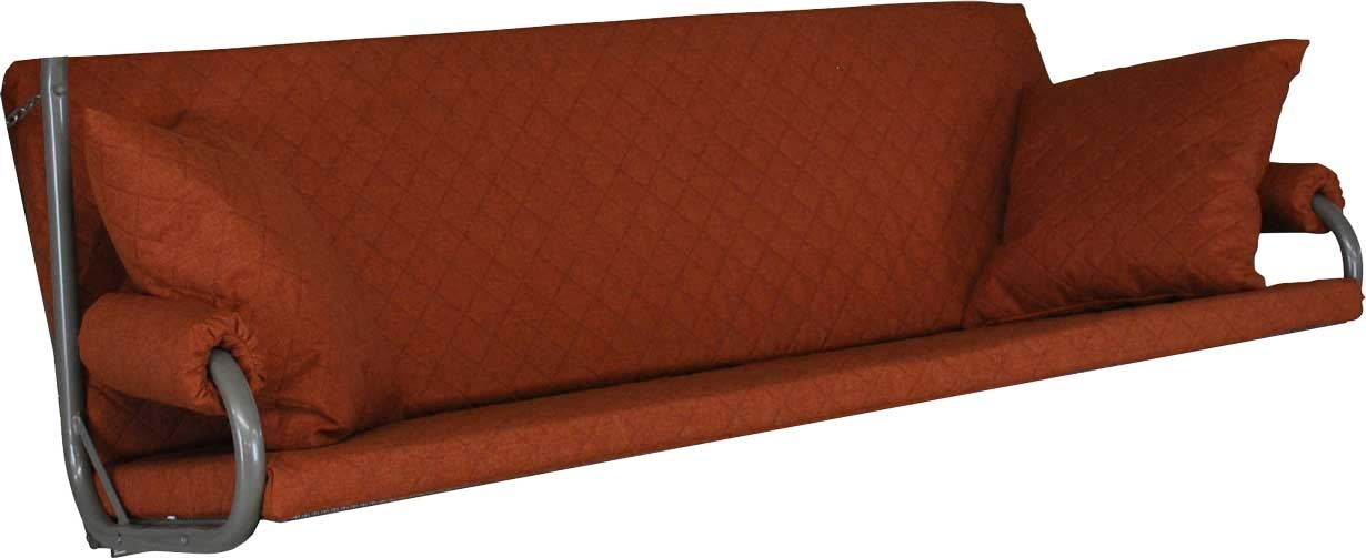 Angerer Hollywoodschaukel Auflage Elegance Joy terracotta