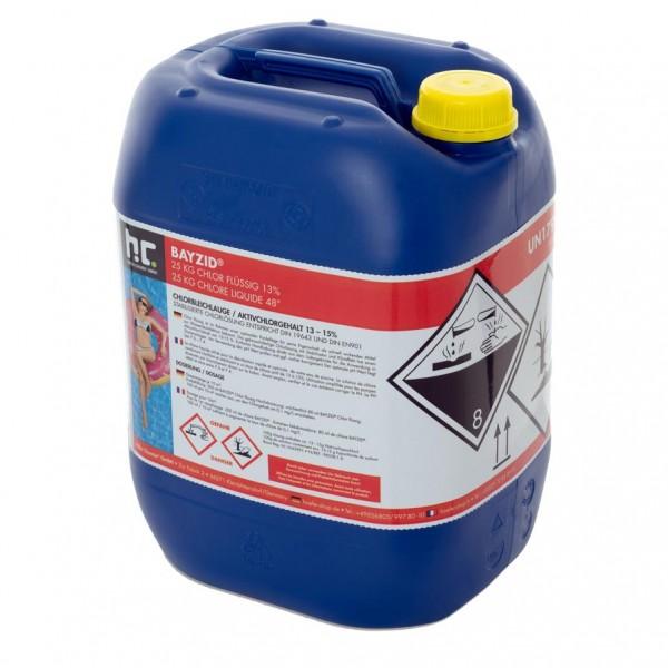 BAYZID Chlor flüssig 13 % für Dosieranlagen 25 kg