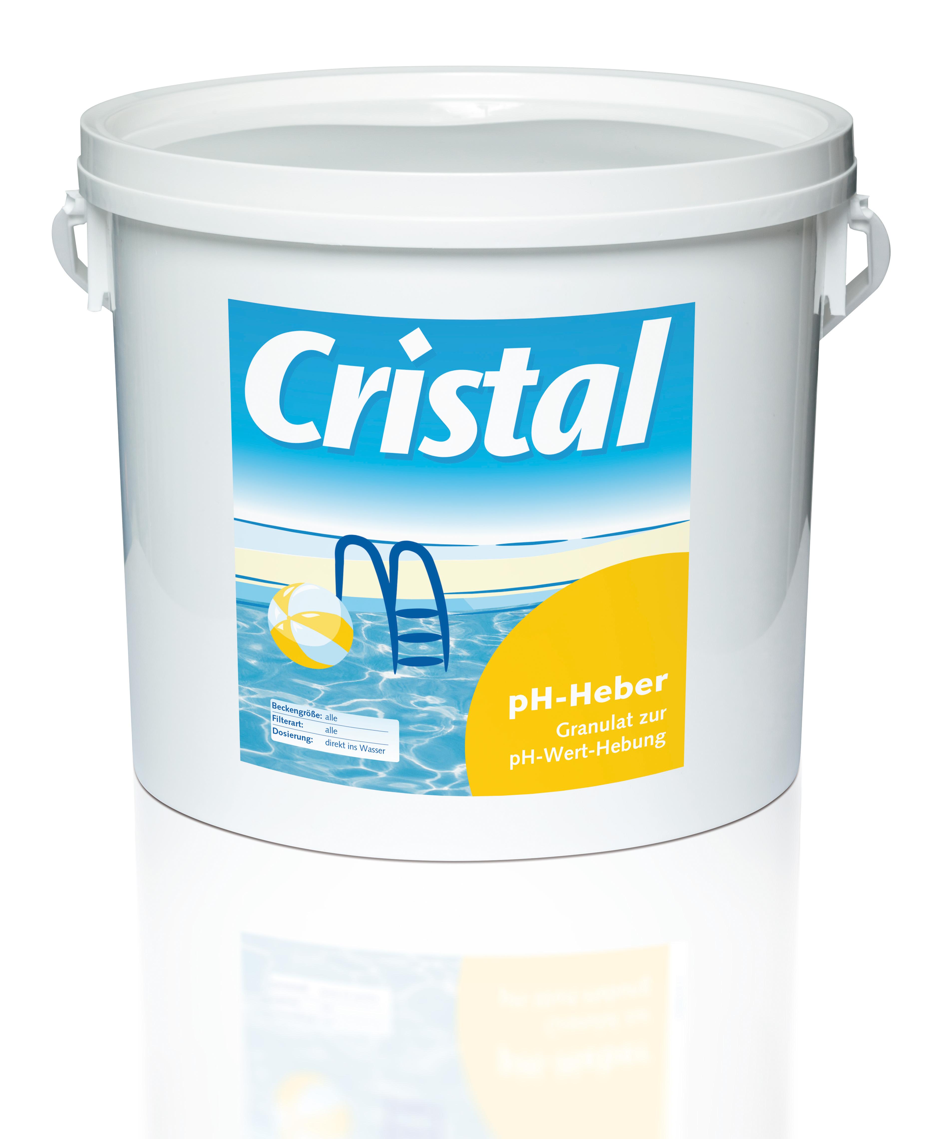 Cristal SET pH-Senker 6kg und pH-Heber 5kg