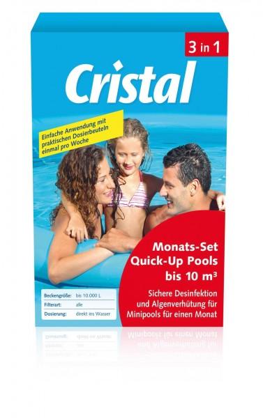 Cristal Monats-Set Quick-Up bis 10 m³ 0,6 kg