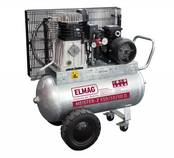 """Elmag Kompressor MEISTER-Z """"verzinkt"""" 400/10/50 W"""