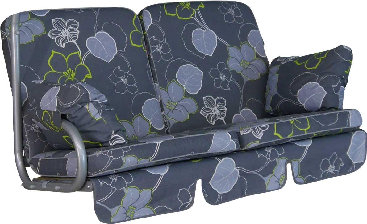Angerer Hollywoodschaukel Auflage 2-Sitzer Comfort Meran grau