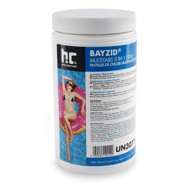 Höfer BAYZID Multitabs 20 g 5 in 1 - 1 kg 6er Set