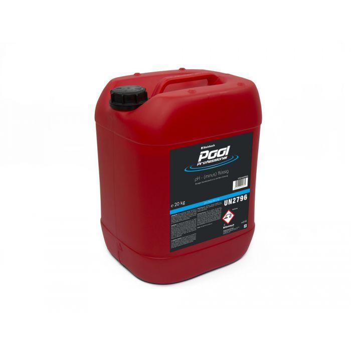 Pool Professional pH-Senker flüssig 20 kg Kanister
