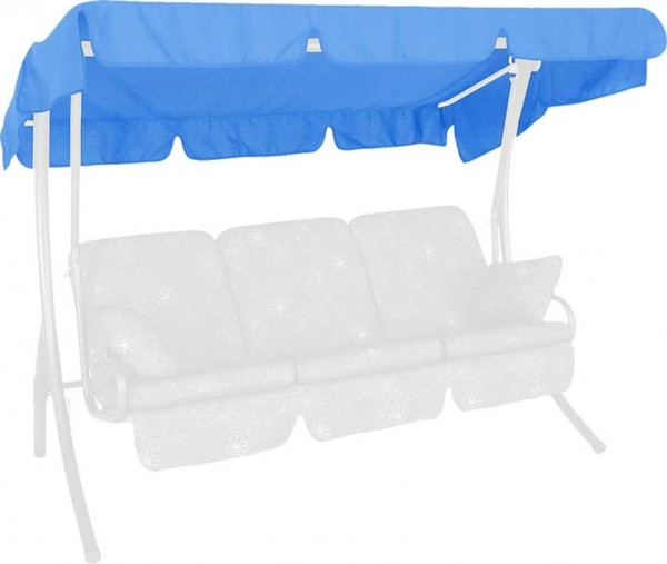 Angerer Hollywoodschaukel Dach Swingtex 210x145cm hellblau