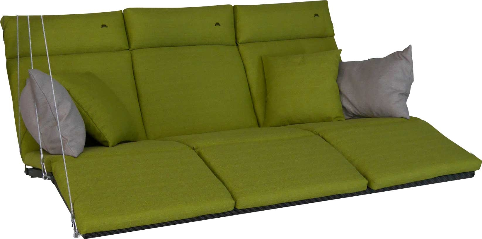 Angerer Hollywoodschaukel Auflage Relax Smart lime