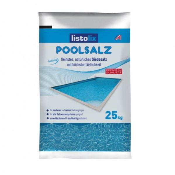 Listolix Poolsalz (Siedesalz) 25 kg
