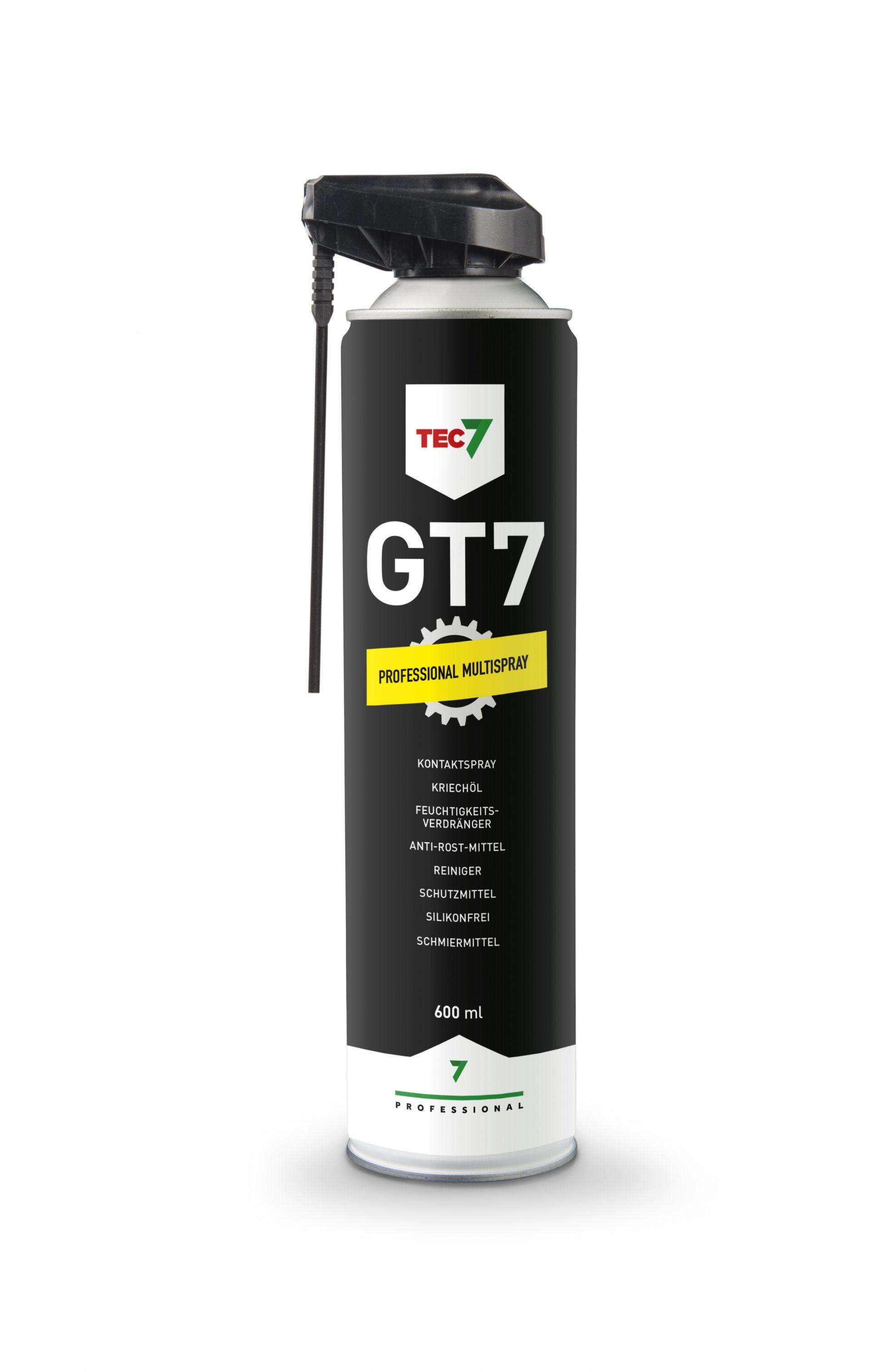 GT7 - Reiniger, Schutzmittel, Feuchtigkeitsverdränger, Kontaktspray