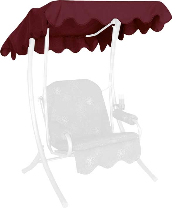 Angerer Hollywoodschaukel Dach Swingtex 100x145cm bordeaux
