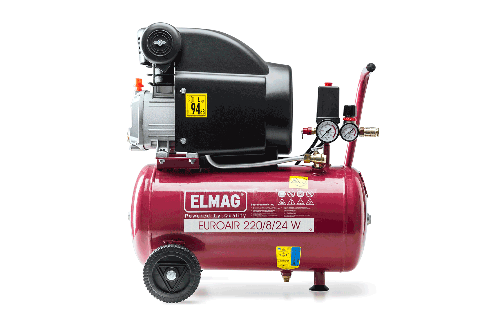 Elmag Kompressor EUROAIR 220/8/24 W