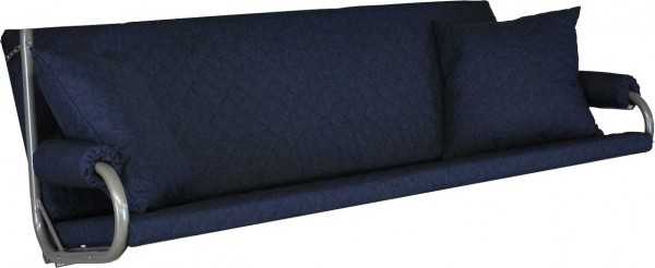 Angerer Hollywoodschaukel Auflage Elegance Joy marineblau